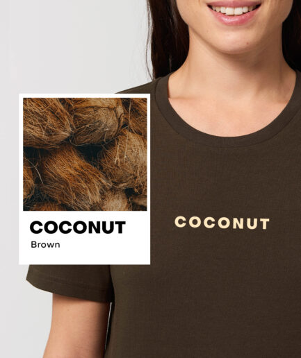 Coconut Brown Essential Organic Unisex Shirt