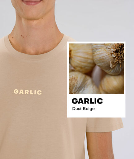 Garlic Dust Beige Essential Organic Unisex Shirt