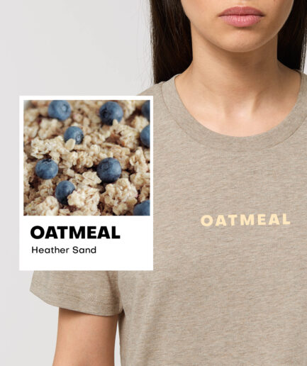 Oatmeal Heather Sand Essential Organic Unisex Shirt