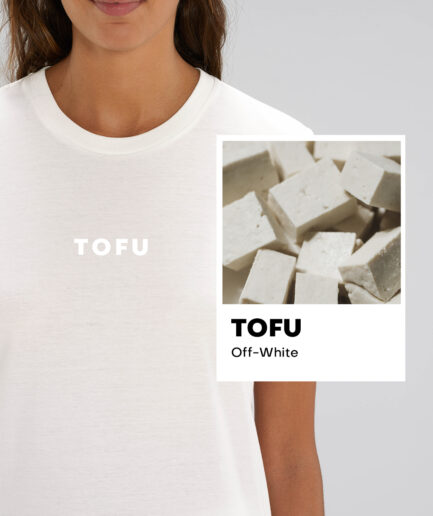 Tofu Off-White Essential Organic Unisex Shirt