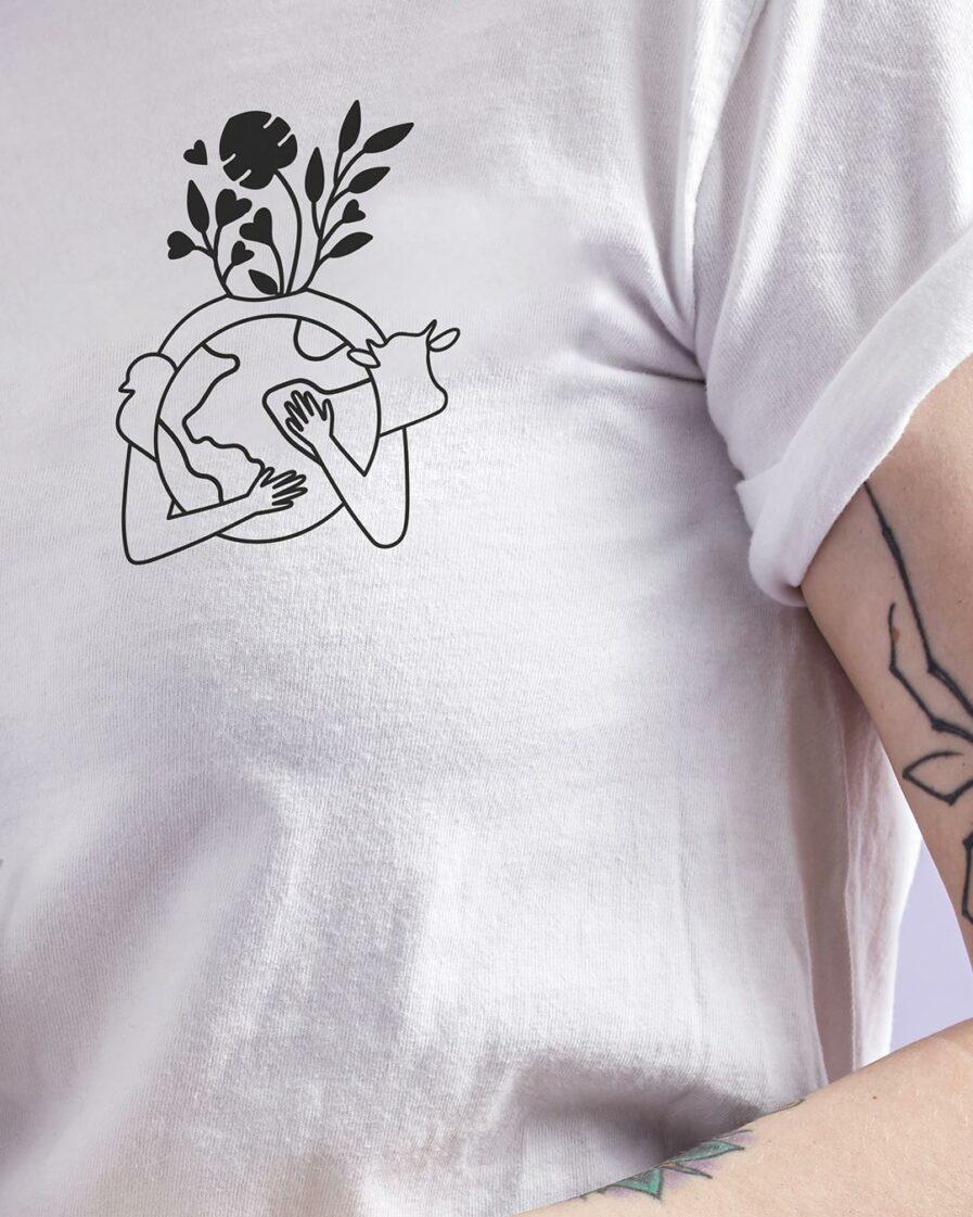 Earth Love Club Ladies Organic Shirt