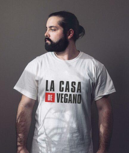 La Casa De Vegano Organic Shirt Weiß