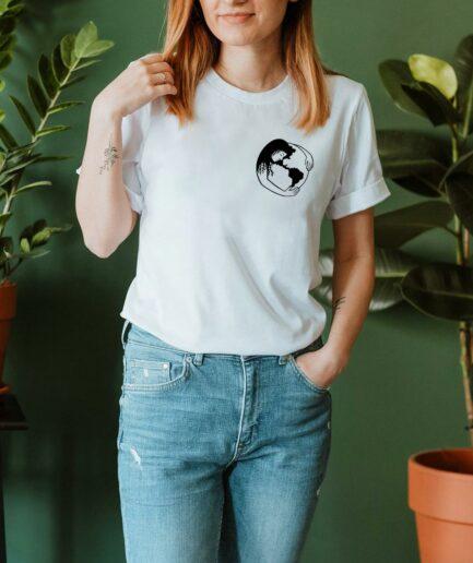 Hug Mother Earth Organic Shirt