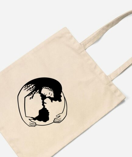 Hug The World Organic Baumwolltasche Natural