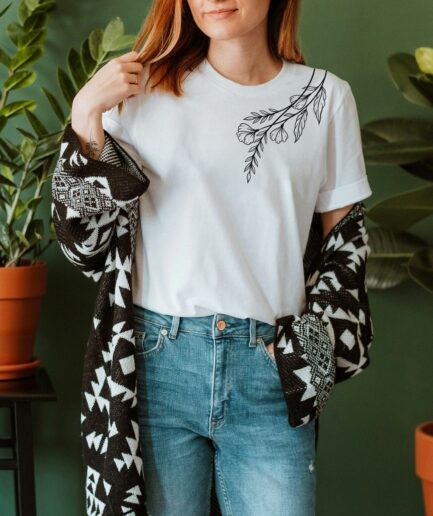 Plant Shoulder Organic Shirt
