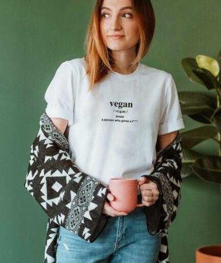 Vegan Noun Organic Shirt