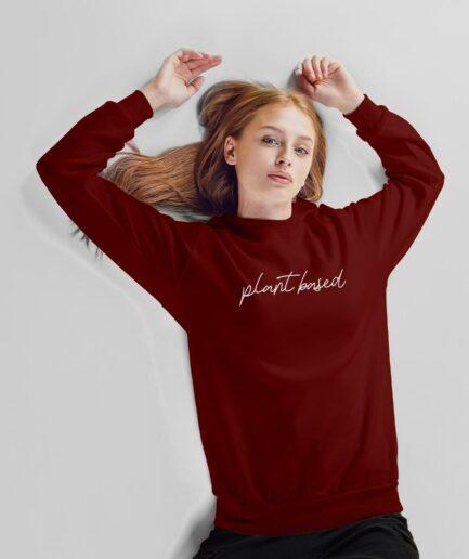 plant based Unisex Organic Sweatshirt