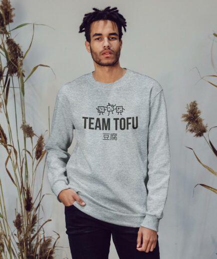 Team Tofu Unisex Organic Sweatshirt