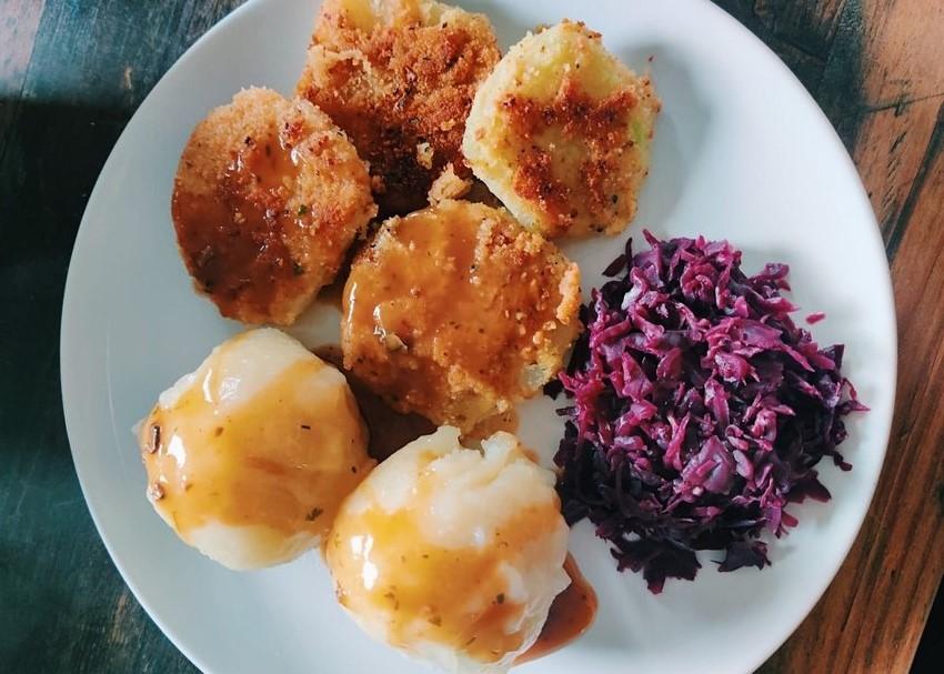 vegane Kohlrabi Schnitzel