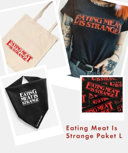 Eating Meat Is Strange Paket L