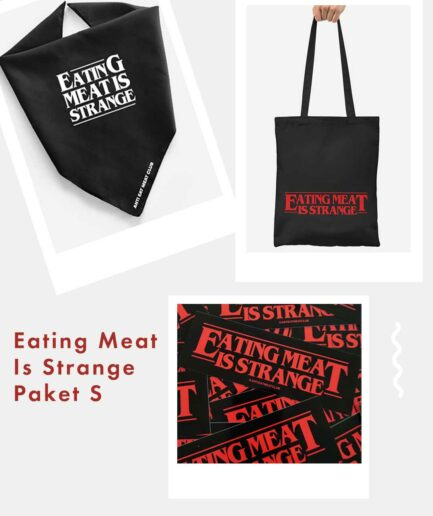 Eating Meat Is Strange Paket S