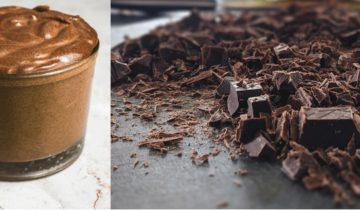 Veganes Mousse au Chocolat