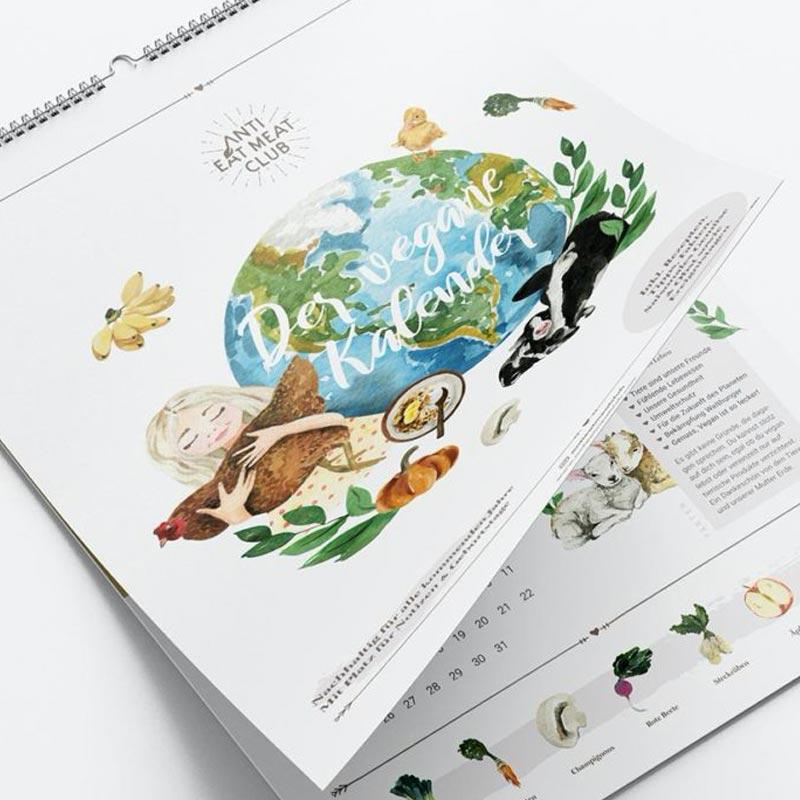 Veganer Kalender