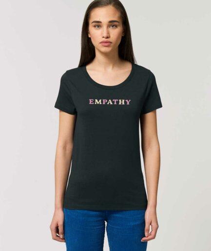 empathy-tailliertes-organic-shirt-black