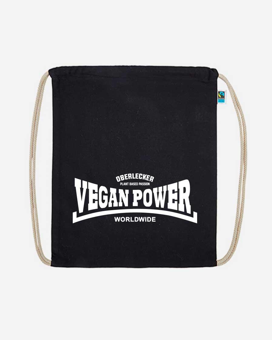 Oberlecker Vegan Power Organic Turnbeutel