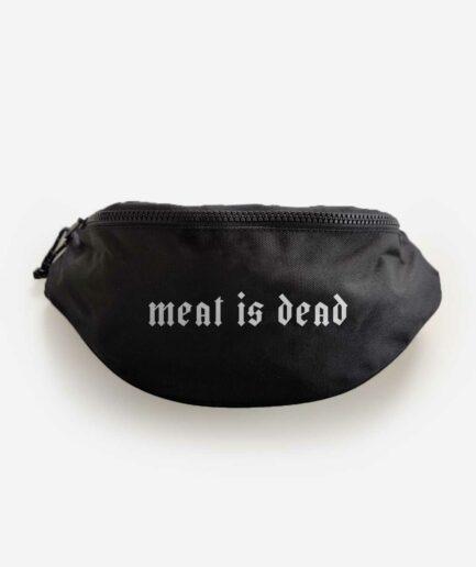 meat-is-dead-recycelte-bauchtasche-schwarz