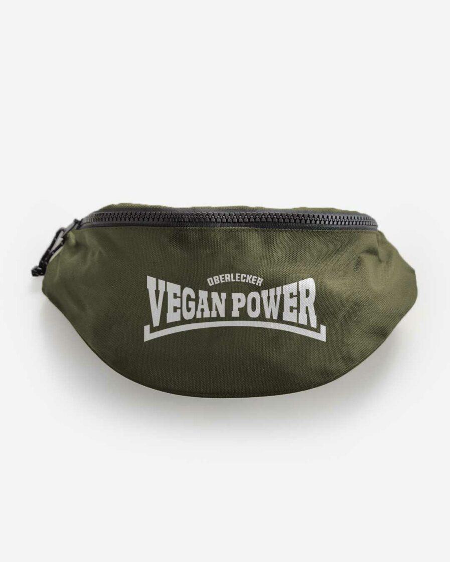 Oberlecker Vegan Power recycelte Bauchtasche