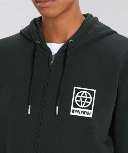 vegan-worldwide-organic-zip-hoodie-black-front
