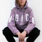 Voice Of The Voiceless Organic Hoodie