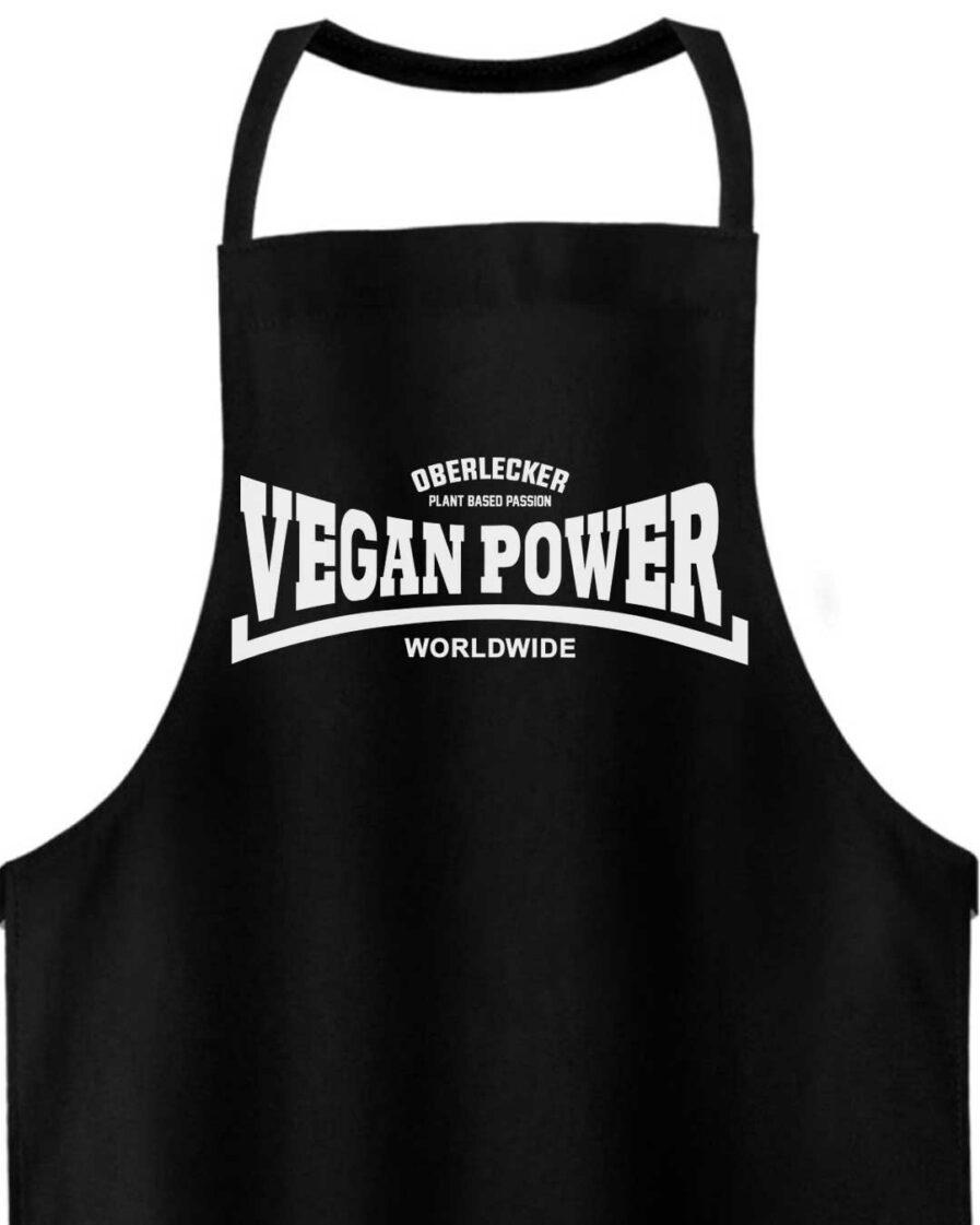 oberlecker-vegan-power-fair-trade-kochschürze-detail