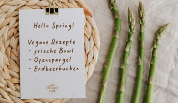Hello Spring☀️ Perfekte vegane Rezepte für den Frühling