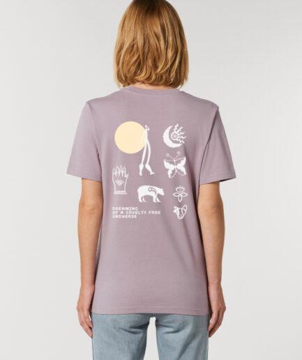 cruelty free universe shirt