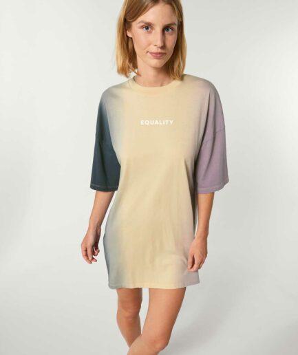 Equality dip dye oversized Kleid