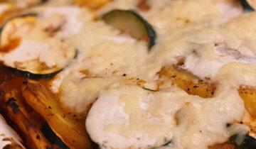 Veganes Zucchini Moussaka