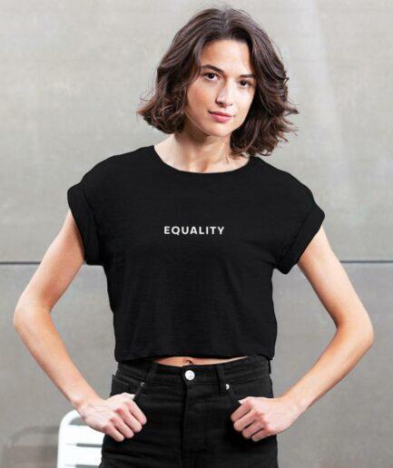 Equality Organic Crop Top