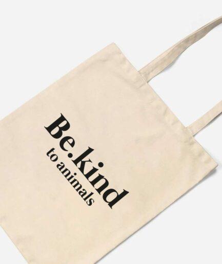 Be.kind to animals Organic Baumwolltasche