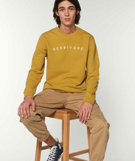 Herbivore Organoc Sweatshirt Ocker