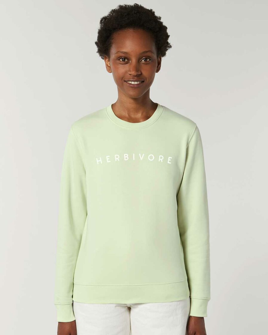 Herbivore Organic Sweatshirt Stem Green