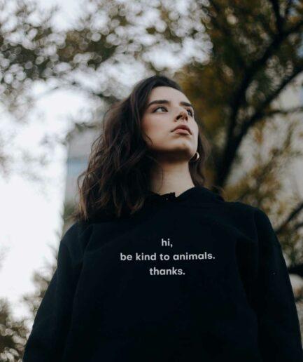 hi-be-kind-to-animals-organic-hoodie-schwarz